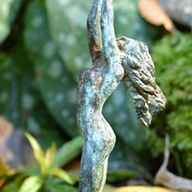 "The Offering, 2010, Bronze, 6"" x 4"" x 3"""